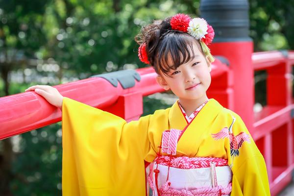 龍城神社・岡崎城で七五三の前撮り