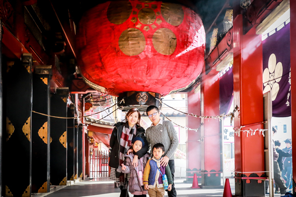 family photo shooting in Nagoya