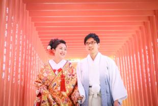 花嫁と花婿(和装)着物