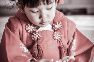 3歳の女の子の七五三
