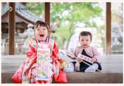 3歳の女の子の七五三 挙母神社(愛知県豊田市)