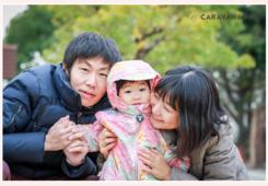 家族写真 公園でロケーションフォト