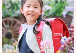 小学校入学記念のファミリーフォト