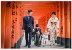 針名神社で七五三 名古屋市天白区