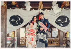針綱神社で七五三 愛知県犬山市